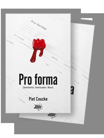 cover pro forma Piet Coucke